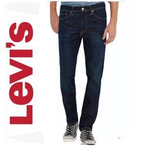 Levi's 511 slim fit Men's jeans dark wash denim